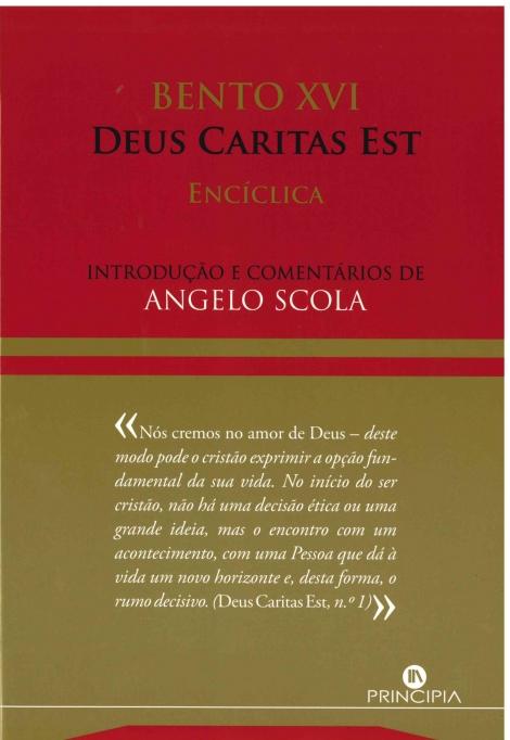 Enciclica de Bento XVI
