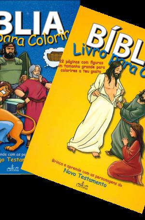 2 livros para colorir